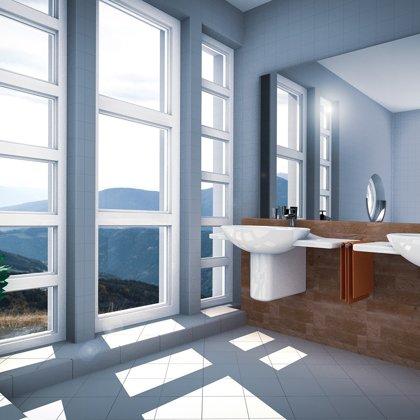 Andělská koupelna v horách...