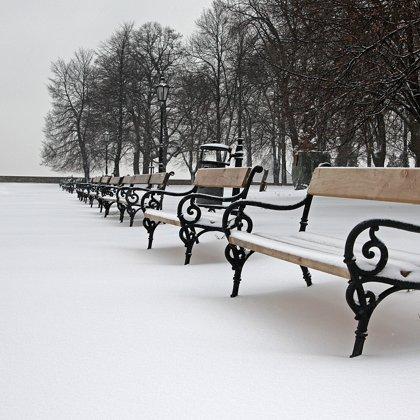 Tato fotka mluví sama za sebe. Je tu chladno a mrtvolné ticho. Smutná krajina beze stop.