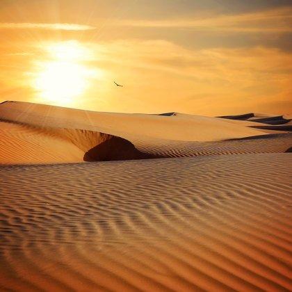 Vyprahlé suché pouště